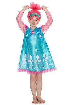 Tesco direct: DreamWorks Trolls Poppy Dress-Up Costume