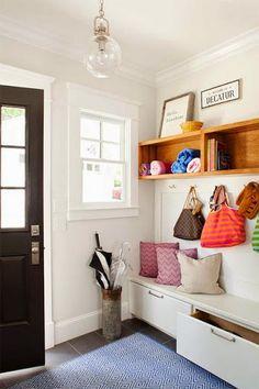 [Deco] 6 elementos básicos para organizar tu recibidor | Decorar tu casa es facilisimo.com