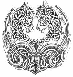 Celtic horses