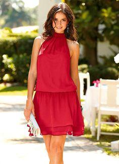 Vestido Frente Única (Vermelho)