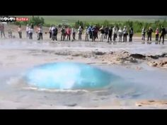 SubhanAllah new islamic miracle of Allah. - YouTube (It's a geyser, no miracles here)