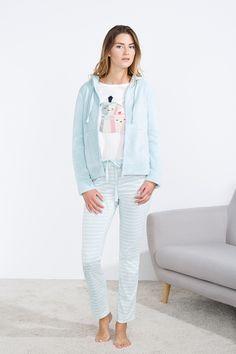 women'secret | Sweet dreams 30% | Longue capuche ensemble pyjama thermique