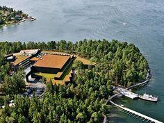 Artipelag (art exhibit in the forest overlooking the lake) - Gustavsberg, Sweden Bus Ride, Stockholm Sweden, Travelogue, Archipelago, New Art, Trip Advisor, Attraction, Modern Art, River