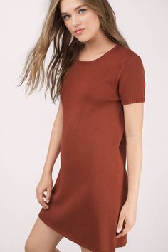"""Search the """"Fran Wine Tunic Sweater"""" on <a href=""""http://Tobi.com"""" rel=""""nofollow"""" target=""""_blank"""">Tobi.com</a> now! essential wardrobe capsule sweater dress shift long mini casual outfit daytime night dinner party winter all autumn"""