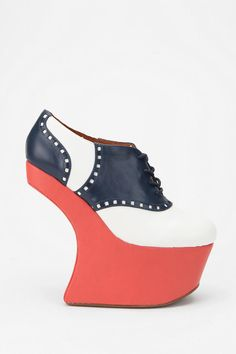 UrbanOutfitters.com > Jeffrey Campbell Night-Walk Saddle Shoe