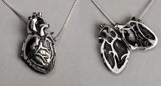 Buy A Handmade Anatomical Heart Necklace for Your Loved One | Medicalopedia
