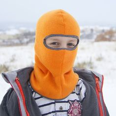 Make you or your little ones a fleece Balaclava and keep those faces warm during the cold months. (pattern piece included)