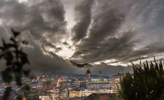 Quito During A Storm by Vezey, via Flickr