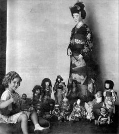 Shirley Temple & all her collectable dolls.