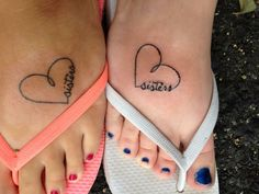 matching sisters tattoos - Google Search