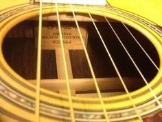 For sale is my OM42AR, this is one of the best OM's I own, but I just don't play it and it deserves to be played. To my knowledge, Martin, has only done one OM production run of 20 OM sized guitars, due to the difficulty of sourcing Amazon Rosewood. | eBay!