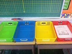 Middle school classroom organization methods (but instead of classroom, maybe speech room organization?)
