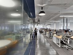 Rapt Studio has designed the new offices of youth media company Fullscreen, located in New York City, New York.