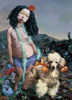 Chinese Contemporary Artist Chen Hui, Cream Strawberry on ArtStack #chen-hui #art