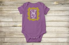 Friends - TV Show - I'd Pee On Any One Of You! - Baby Onesie and Toddler T-Shirt
