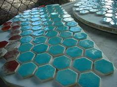 turquoise tile accents!!!!!