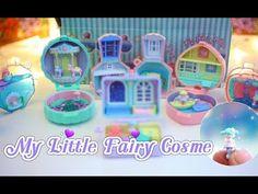 RE-MENT♡ บ้านนางฟ้าจิ๋วในตลับเครื่องสำอางค์ น่ารักมากกก กก!! || RE-MENT My Little Fairy Cosme - YouTube