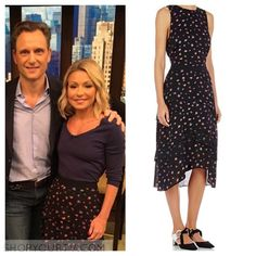 Kelly & Michael: May 2016 Kelly's Black Floral Tiered Skirt