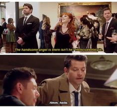 Ok it's decided this is by for my favorite Rowena and cas conversation EVER!!!!!