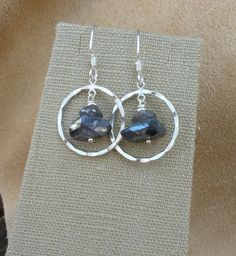MacDesigns  Labradorite Earrings by macdesignsgallery on Etsy
