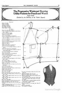 Image gallery – Page 366410119681333963 – Artofit Mens Sewing Patterns, Coat Patterns, Vintage Patterns, Sewing Tutorials, Clothing Patterns, Sewing Projects, Tutorial Sewing, Bodice Pattern, Jacket Pattern