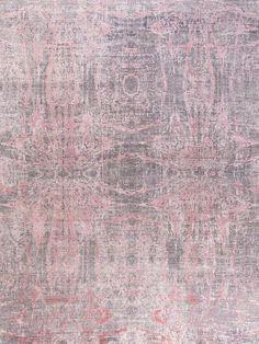 Anamika – Grey Pink rug from Bazaar Velvet