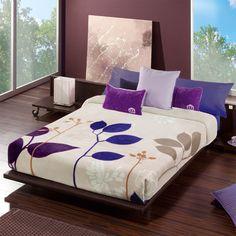 MANTA VIP 553  Manta dormitorio modelo Vip 553 que nos presenta la empresa Manterol. El diseño de esta manta es muy sencillo pero a la vez muy elegante con lo que su dormitorio o el de los miembros de su familia quedarán totalmente decorados con muy buen gusto.