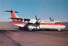 Continental Express ATR-42. I flew one of these back in '89 EWR-ROC.