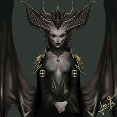 Lilith - 20 hours, 9 cups of coffee, one broken pen, and one Spotify playlist in a loop. @lucie_fog Lilith Diablo game gameart art draw drwaing paint painting blizzard succuba demon Lilith Diablo, Diablo Game, Medusa Art, Spotify Playlist, Fantasy Art, Cups, Batman, Superhero, Coffee