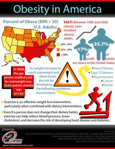 U.S. Obesity Statistics Infographic: CDC