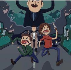 Supernatural fan art done by one of my friends