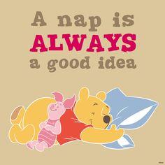 Winnie-the-Pooh - A Nap is Always a Good Idea