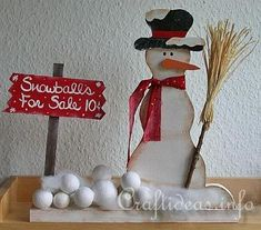 christmas crafts for adults   Wood Crafts with free Patterns - Christmas Scrollsaw Project - Snowman ...