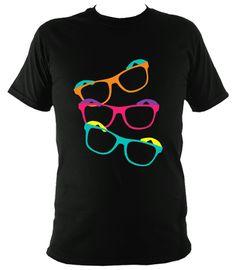 """Geeksome"" Black T-Shirt"