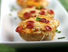 Pizza Baked Potatoes | Babble