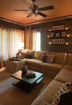 10 Courageous Clever Hacks: Living Room Remodel Before And After Furniture Placement small living room remodel tiny house.Living Room Remodel Before And After Inspiration living room remodel on a budget simple.Living Room Remodel With Fireplace Shelving. Cozy Living Rooms, Home Living Room, Apartment Living, Cozy Apartment, Apartment Ideas, Living Area, Living Room Themes, Simple Living Room, Home Fashion
