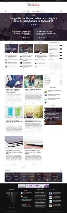 Techwise - Drag & Drop Magazine w/ Comparisons • Download ➝…