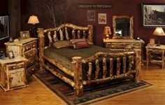 'Beartooth Pass' Aspen Bed