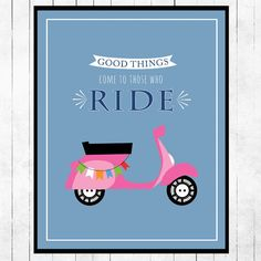 Motivational poster inspiration print retro by curlywillowco, $25.00