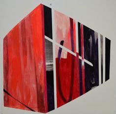 acrylic on canvas, 150 x 150 cm, 2016, Ioana Niculescu-Aron