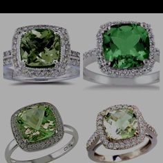 not big on rings, but i love these green ones!!!