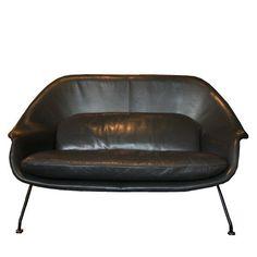 Eero Saarinen Model 73 Womb Settee