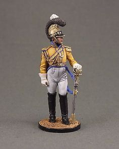 "Officer of the regiment ""Garde du Corps"". Saxony, 1810-13"
