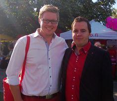 Antti Lindtman ja Ari Wigelius SDP - Tampere 7.9.2013
