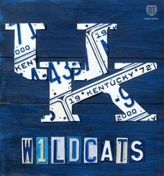 The Kentucky Wildcats, My favorite hoops team:)