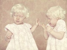 a series of photos on albinos.