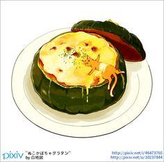 温かいものが食べたくなってきましたね。 ハロウィンも近いのでかぼちゃ。