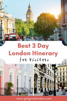 In this 3 day London itinerary, I'm going to unpack the best things to do to maximize your time, experience classic British cuisine, get memorable family photos, and really feel like you've seen the city. Best Countries In Europe, London With Kids, London Night, London Attractions, Things To Do In London, London Calling, Beautiful Places To Visit, London Travel, Study Abroad