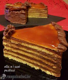 Food Inspiration, Happy Birthday, Cakes, Sweets, Caramel, Hungary, Happy Brithday, Cake Makers, Urari La Multi Ani