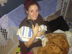 Bayland 2 weeks old. My pitbull